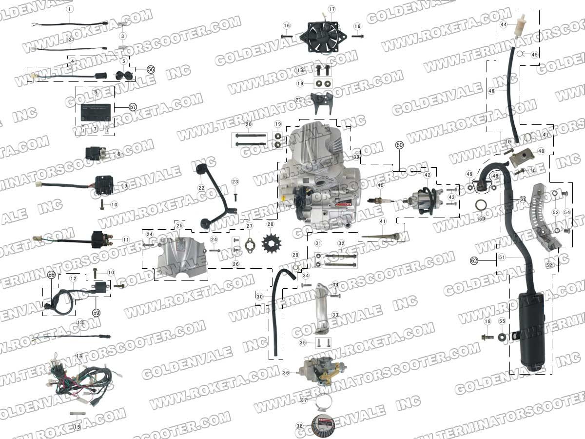 Roketa 110 Atv Wiring Diagram from www.roketapartsdept.com