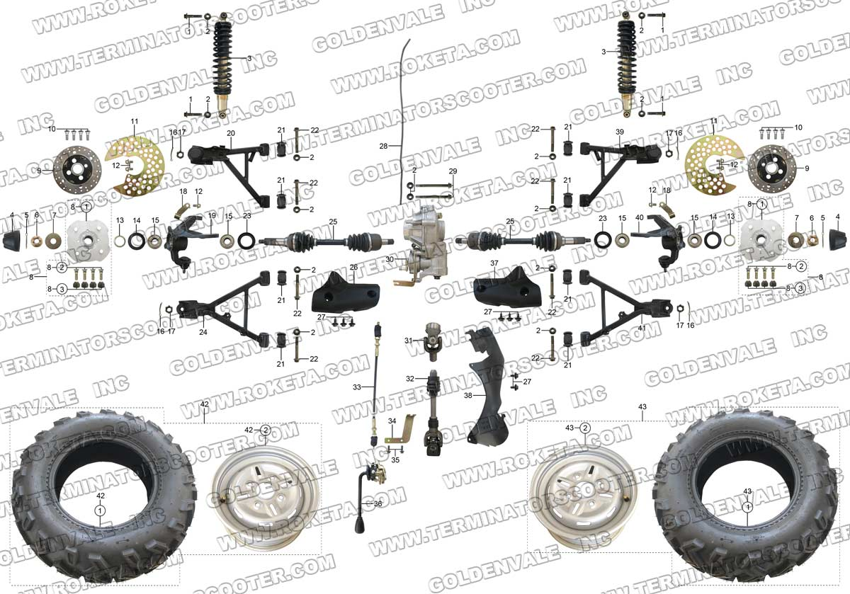 yamaha linhai 260cc atv wiring diagram linhai atv parts Hisun UTV 500 Wiring Diagram Linhai 260 ATV Engine Diagram