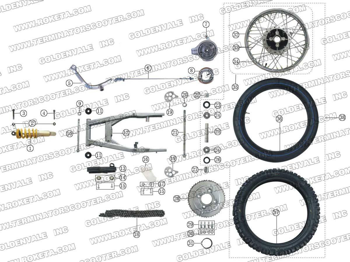 Bike Parts Assembly SELECT YOUR PART BELOW