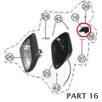 PART 16: ATV-01 HEADLIGHT HOLDER