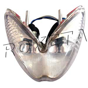 PART 01: ATV-03-110 HEADLIGHT LENS