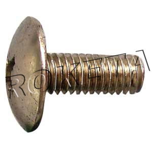 PART 10: ATV-03 CROSS BALL-SHAPE-HEAD BOLT M6x16