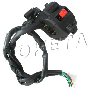 PART 09: ATV-04WC-200 LEFT SWITCH ASSEMBLY
