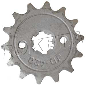 PART 12-11: ATV-08L FRONT SPROCKET 420/14