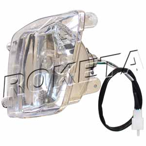 PART 06-2: ATV-08L LEFT HEADLIGHT