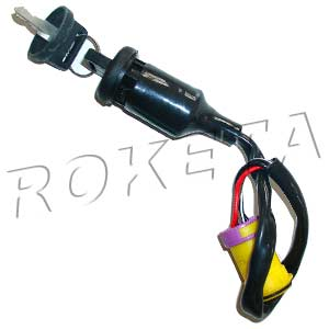PART 02: ATV-10 IGNITION SWITCH w/ KEYS