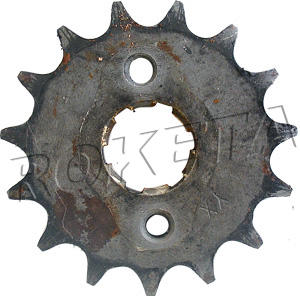PART 12-12: ATV-15C FRONT SPROCKET 428/15