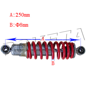 PART 03: ATV-15C REAR SHOCK ABSORBER