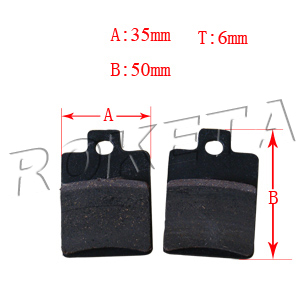 PART 09-5: ATV-15C REAR BRAKE PADS