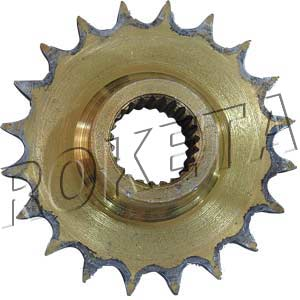 PART 32: ATV-17WC FRONT SPROCKET 428/20