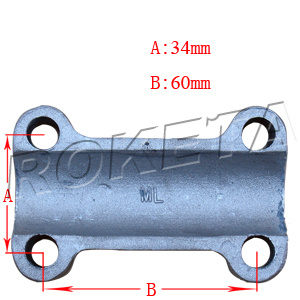 PART 08: ATV-17WS HANDLE BAR LOWER MOUNTING BRACKET