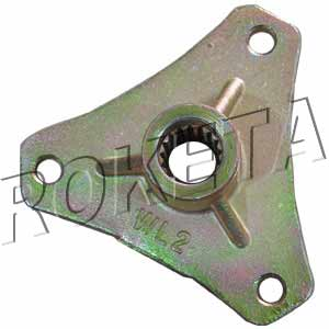 PART 13: ATV-26R REAR WHEEL BRACKET