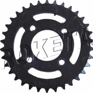 PART 16: ATV-26R REAR SPROCKET 420/34