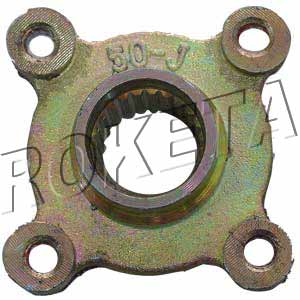 PART 28: ATV-26R REAR BRAKE DISC BRACKET