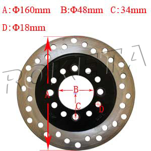 PART 28: ATV-32 REAR BRAKE DISC