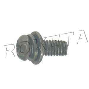 PART 15: ATV-40 CROSS BALL-SHAPE-HEAD BOLT M3.8x10