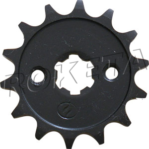 PART 17-13: ATV-67 FRONT SPROCKET 420/14