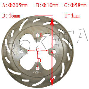 PART 30: ATV-67 REAR BRAKE DISC