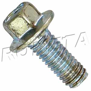 PART 19-2: ATV-69 HEX FLANGE BOLT M6x16