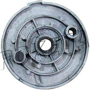 PART 08-7: ATV-77 LEFT FRONT BRAKE HUB COVER
