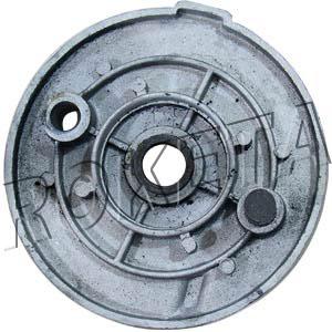 PART 12-7: ATV-77 LEFT FRONT BRAKE HUB COVER