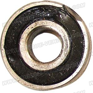 PART 34-1: DB-27A BEARING, FRONT WHEEL