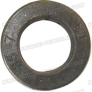 PART 34-3: DB-27A OIL SEAL, FRONT WHEEL