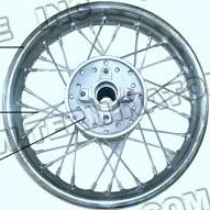 PART 20-8: DB-28 REAR RIM 12 INCH