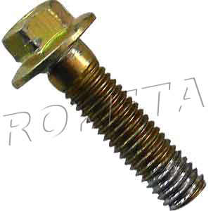 PART 02-16: GK-01 HEX FLANGE BOLT, REAR SPROCKET