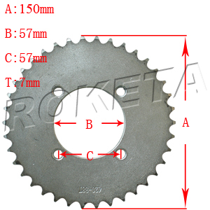 PART 30: GK-17 REAR SPROCKET