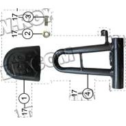 PART 17: GK-17 THROTTLE PEDAL ASSEMBLY