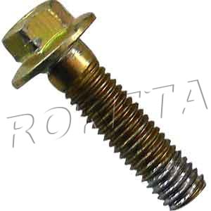 PART 02-16: GK-19 HEX FLANGE BOLT, REAR SPROCKET