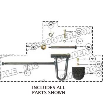 PART 01: GK-19 THROTTLE PEDAL ASSEMBLY