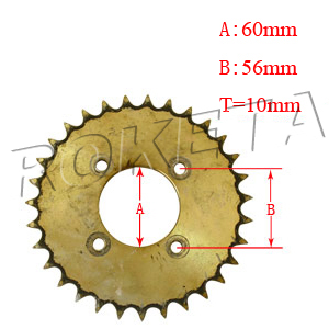 PART 25: GK-28 REAR SPROCKET 530/31