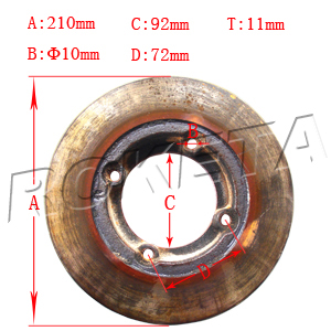 PART 16: GK-32 REAR BRAKE DISC