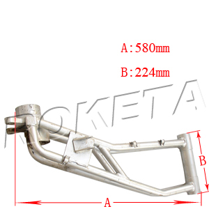 PART 24: GK-32 RIGHT REAR SWING ARM