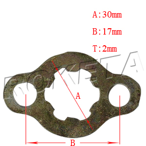 PART 01-12: GK-37 FRONT SPROCKET CLIP