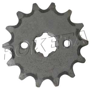 PART 01-13: GK-37 FRONT SPROCKET 420/14