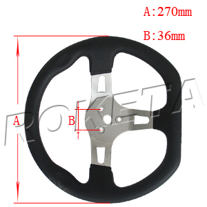 PART 18: GK-37 STEERING WHEEL