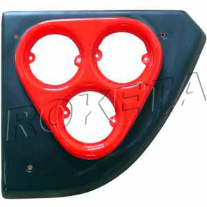 PART 01-14: GK-40 LEFT REAR FIXING BOARD