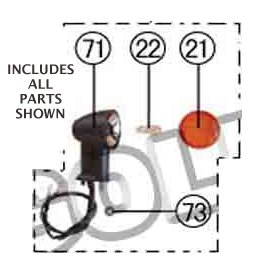 PART 85: MC-07 RIGHT REAR TURN SIGNAL ASSEMBLY