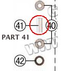 PART 41: MC-07 BUSHING, FRONT WHEEL