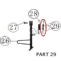 PART 29: MC-13-250 SIDE STAND SPRING 2