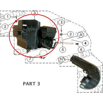 PART 03: MC-13-250 AIR CLEANER BOX