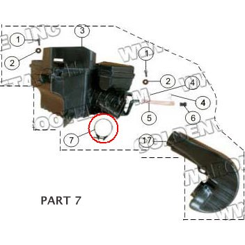 PART 07: MC-13-250 AIR CLEANER BOX CLAMP