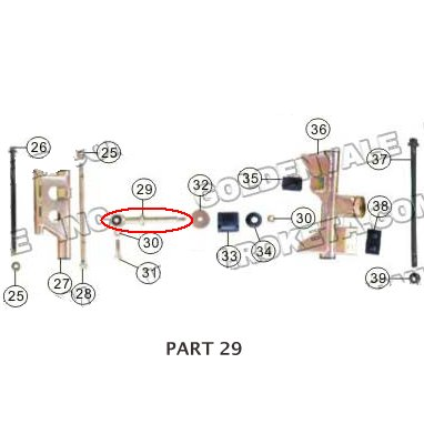 PART 29: MC-13-250 CUSHION MOUNTING BRACKET