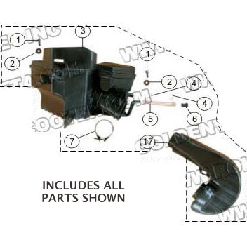 PART 42: MC-13-250 AIR CLEANER ASSEMBLY