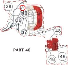 PART 40: MC-13-250 TAIL LIGHT BULB