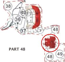 PART 49: MC-13-250 TAIL LIGHT BODY COVER