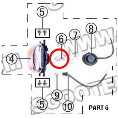PART 06: MC-43 HEADLIGHT BULB